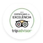 Certificado de Execelência do Trip advisor